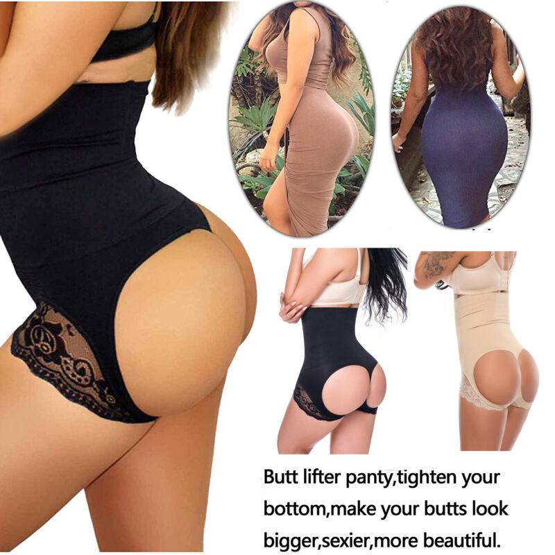 Hourglass Figure Butt Lifter Shaper Panties Tummy Control Hi