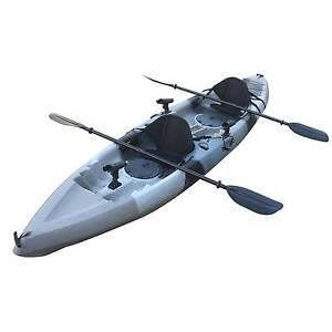 3.8M Familly Fishing Kayak 2+1 or 2 seats Sit-on Rod Holders Kings Park Blacktown Area Preview