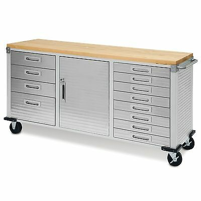 Garage Rolling Metal Steel Tool Box Storage Cabinet Workbench |NO SALES TAX|