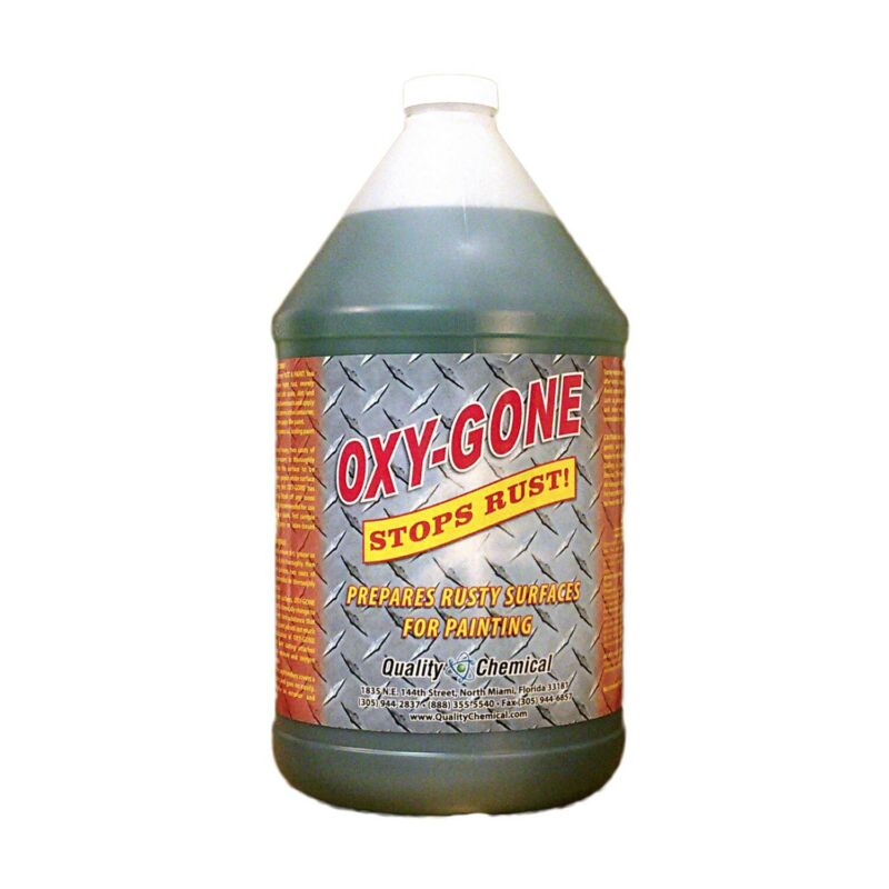 Oxy-gone Rust Remover & Metal Treatment - 1 Gallon (128 Oz.)