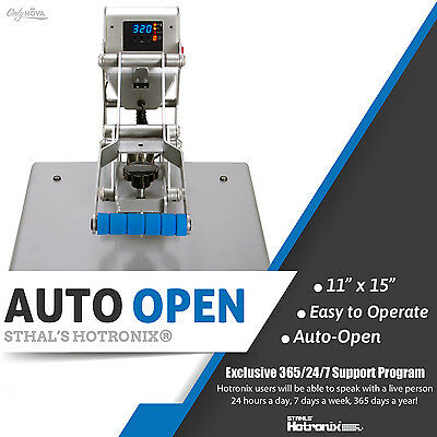 Stahls Hotronix Auto Open Clam Heat Press 11 X 15 Free Fedex Ground Shipping