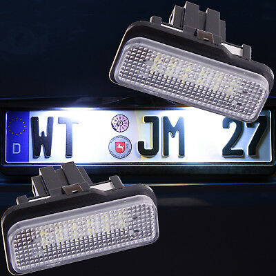 LED Kennzeichenbeleuchtung für Mercedes C-KLASSE T-Modell Kombi S203  [7203]