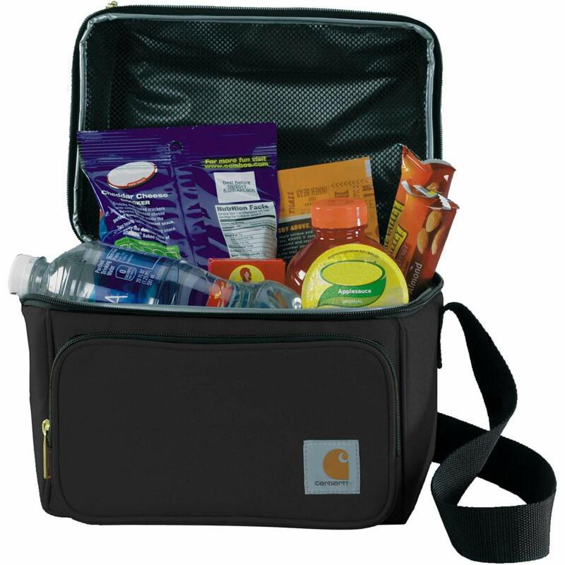 Carhartt Deluxe Dual Compartment Insulated Lunch Cooler Bag,