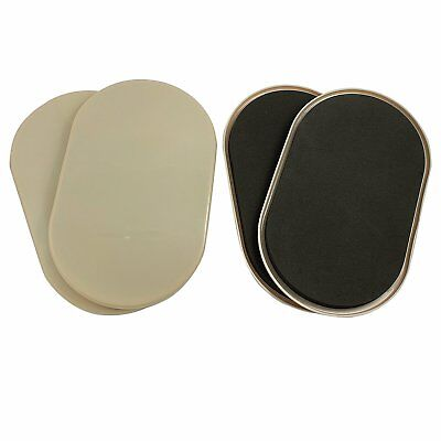 "Large Oval Carpet Furniture Sliders 9-1/2"" x 5-3/4"" 4-Pack in Resealable Bag"