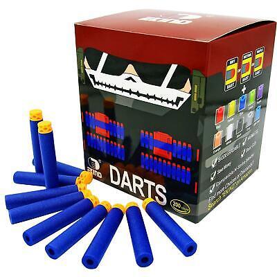 EKIND 200 Pcs 7.2cm TPR Waffles Soft Head Darts Refill Foam Bullet compatible