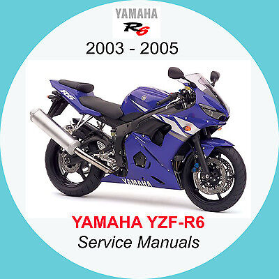YAMAHA YZF-R6 2003-2005 FULL SERVICE MANUAL A2