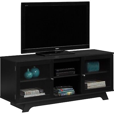 55 Inch TV Stand Flat Screen Entertainment Media Console Home Furniture Center