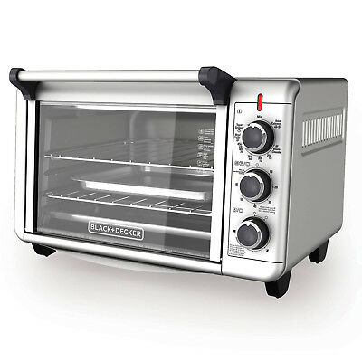 CONVECTION OVEN Countertop Pizza Toaster Stainless Sword Baking Broiling Kitchen