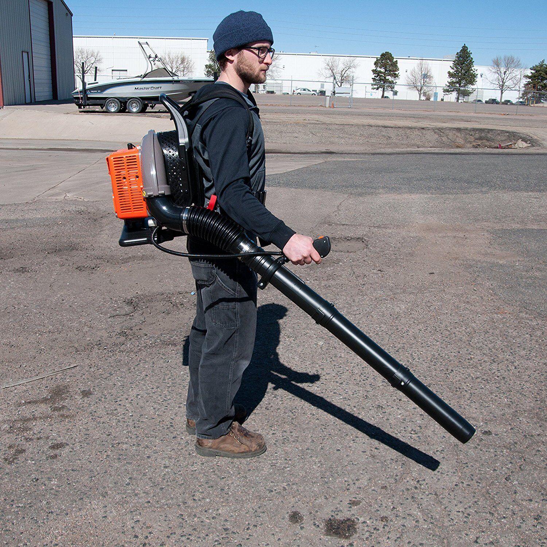 Back Pack Leaf Blower, 63cc 2 Stroke Gas Powered, EPA Approv