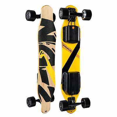 "SWAGSKATE NG2 38"" A.I.-Powered Electric Longboard Skateboard Hands-Free Control"