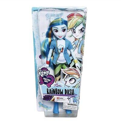 New My Little Pony Equestria Girls Rainbow Dash Doll MLP Blue 11 Inch Toy Play