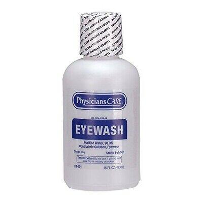 PhysiciansCare 16 oz. Eyewash Bottle, (24-101) 16 oz. Eyewash Refill