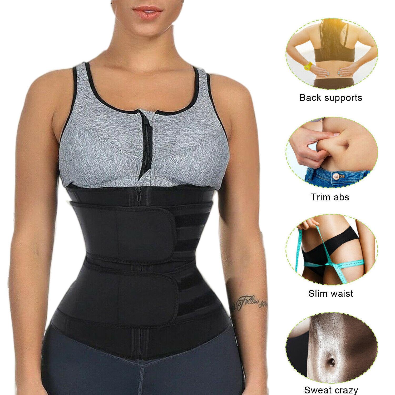 Women Waist Trainer Body Shaper Slimmer Sweat Belt Tummy Control Neoprene Belt Clothing, Shoes & Accessories