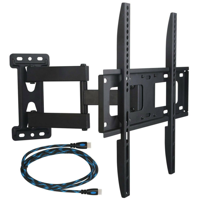Full Motion Tilt Swivel TV Wall Mount LED LCD Plasma 32 37 39 42 46 48 50 55 60