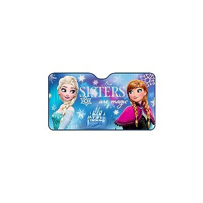 *** Disney FROZEN/Anna & Elsa ALU Auto-Sonnenschutz FRONTSCHEIBE 130 x 70cm ***
