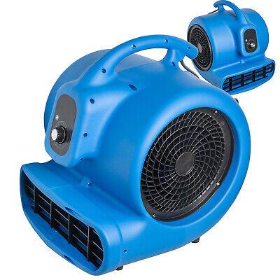 34hp Blower Floor Fan Carpet Dryer Utility Fan Air Mover Water Damage Equipment