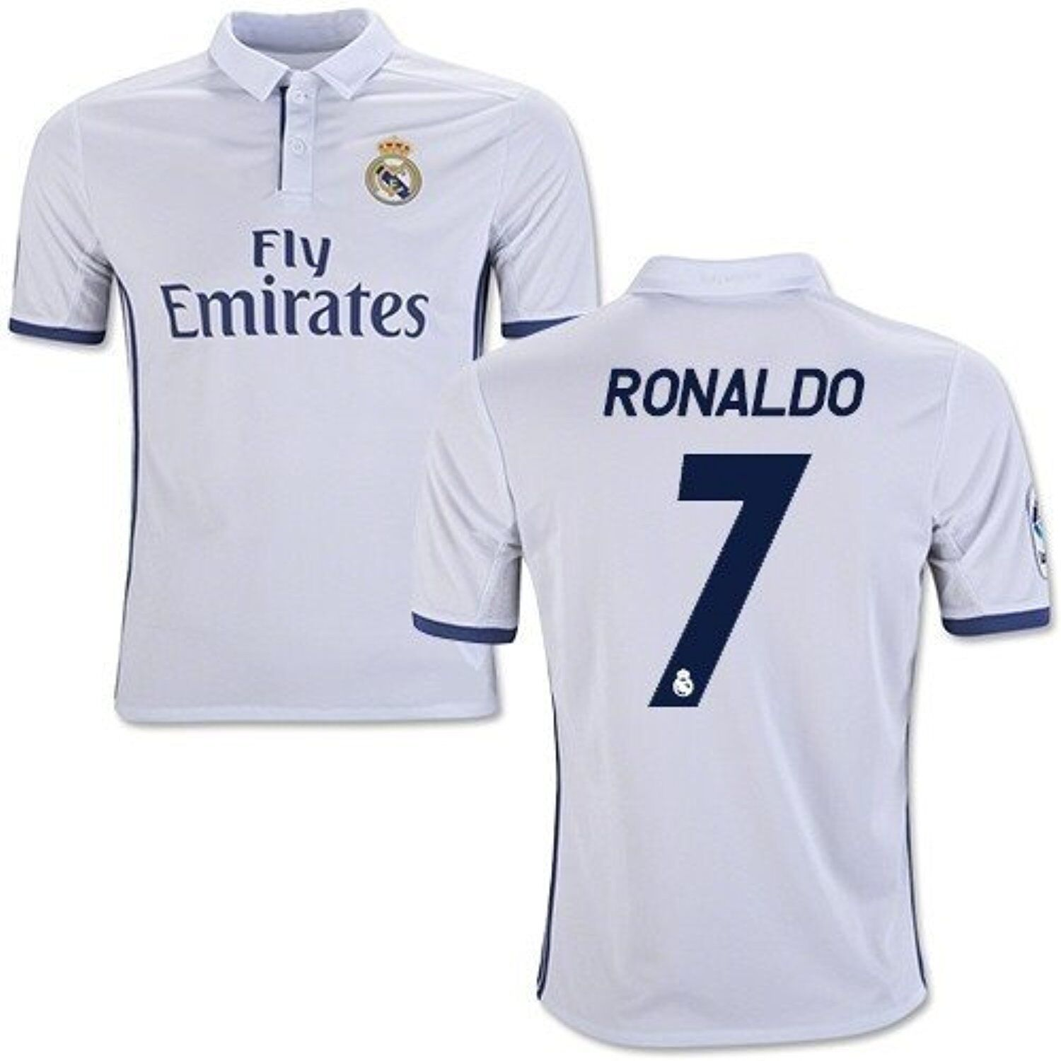best website 6ae7b 596ea New Real Madrid Home Cristiano Ronaldo Soccer Jersey football Shirt