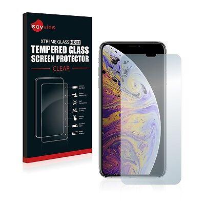 Apple iPhone Xs Max Glas Panzerfolie Schutzpanzer Glasfolie Displayschutzfolie