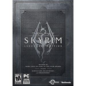 The elder scrolls v skyrim Legendary Edition PC DVD ROM Games New Sealed