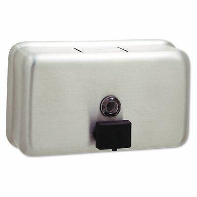 Bobrick Classicseries Surface-mounted Liquid Soap Dispenser Horizontal 40 Oz
