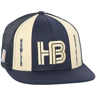 Howler Brothers Snap Back Trucker Hat Navy NEW