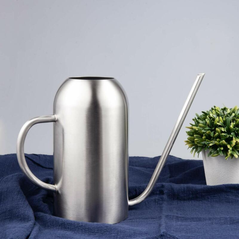 IMEEA Watering Can for Indoor House Plants Long Spout Brushed Stainless Steel...