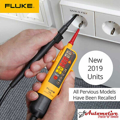 Genuine Uk Fluke T90 Voltage Continuity 2 Pole Tester