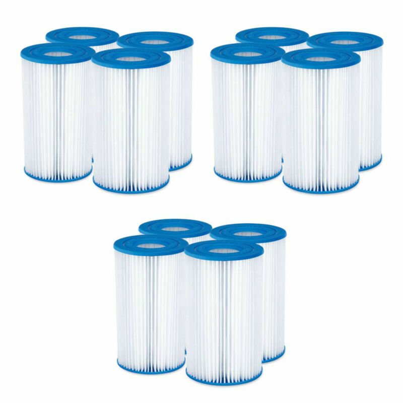 1-12 PCS Intex Easy Set Swimming Pool Type A or C Filter Replacement Cartridges