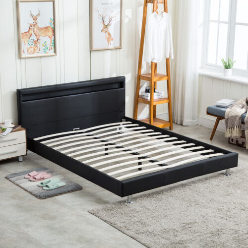 queen size modern bed frame bedroom platform