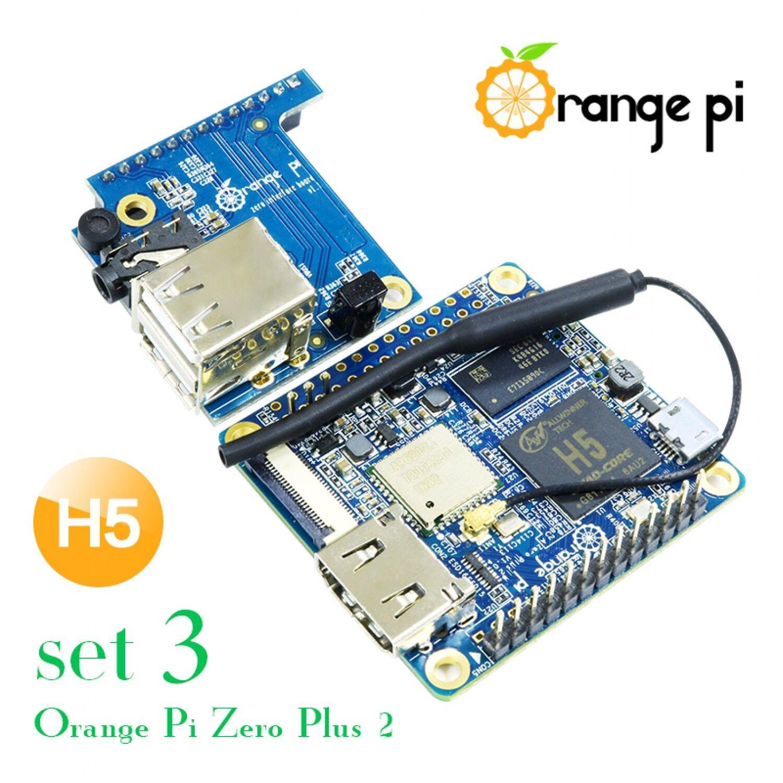 Details about Orange Pi Zero Plus 2 H5 Set 3: opi Zero Plus 2 H5 +Expansion  Board