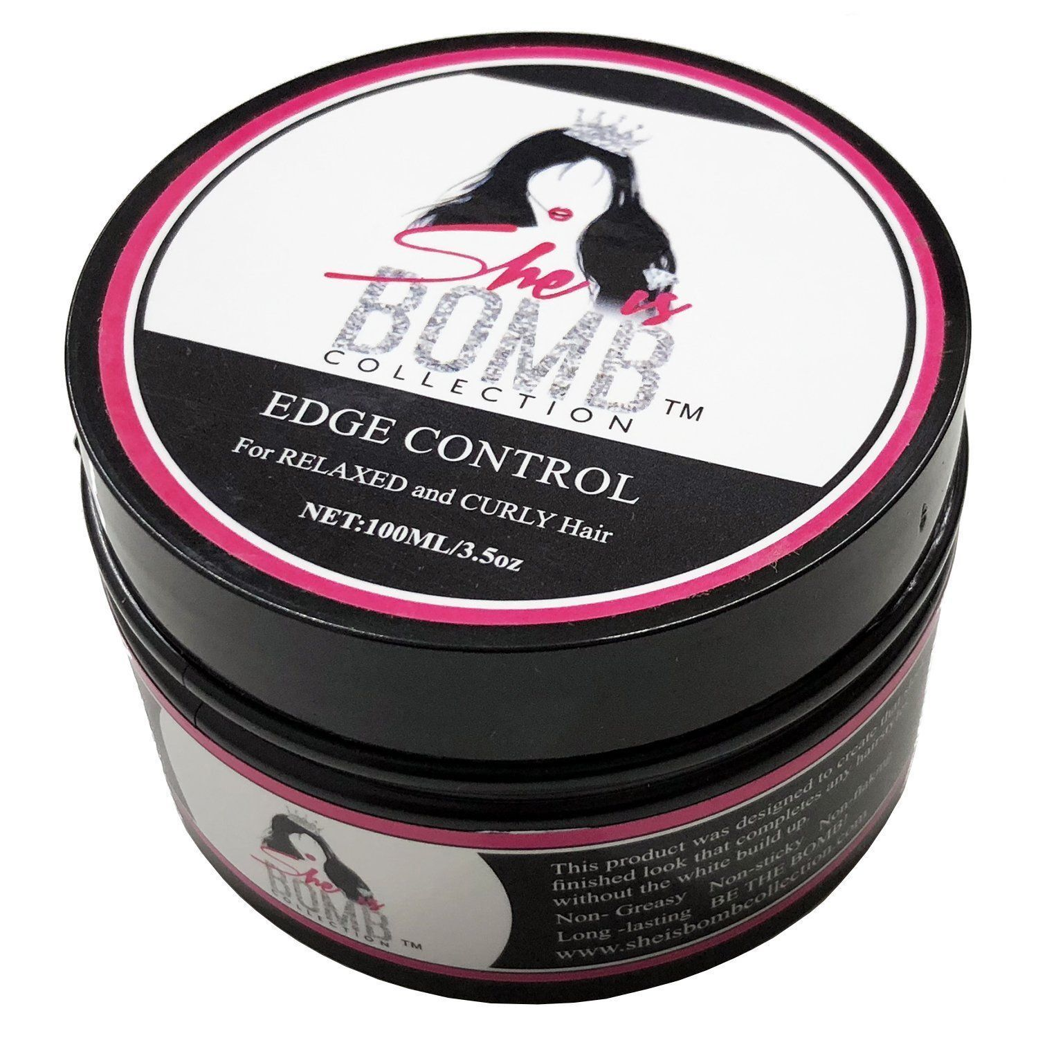 She Is Bomb Collection Edge Control 3.5 Oz. – Free Shipping !!! Hair Care & Styling