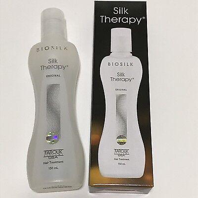 Sealed New Hair Treatment Biosilk Silk Therapy Cure Serum Oil 150ml