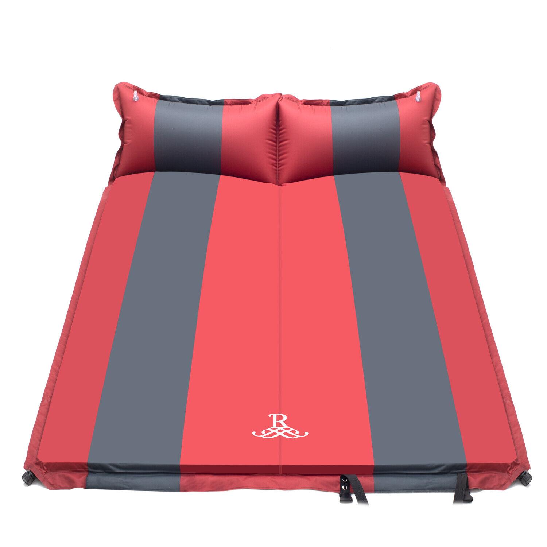 Isomatte für 2 Personen Camping Schlafmatte Selbstaufblasend Luftmatratze SM05