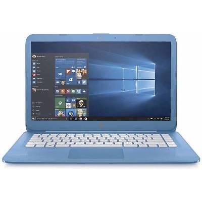 "HP Stream  Laptop, Windows 10 Home, Intel Celeron N3060 4GB RAM 32GB Storage 14"""