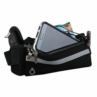 Running Belt, Waist Bag, Sweatproof and Best Hands-Free Solution for Running,