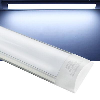 5 Pack 4ft 44w Linear Led Wraparound Light Flushmount Shop Light For Garage