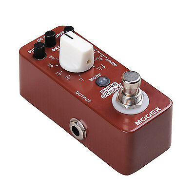 New Mooer Pure Octave Octaver Micro Guitar Effects Pedal!