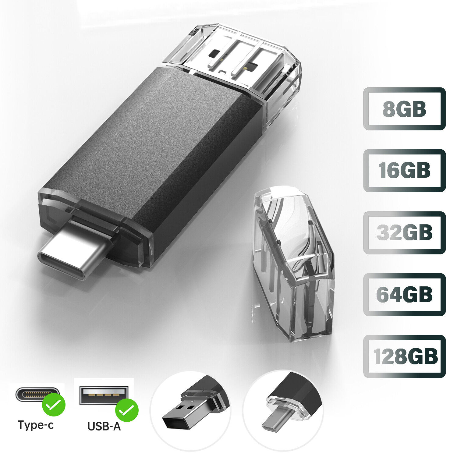 USB Type C Flash Drive Memory Stick Thumbdrive For Samsung Phone iPad PC Laptop Computers/Tablets & Networking