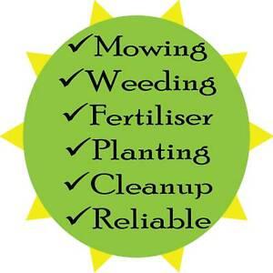 Gardening and Lawn maintenance