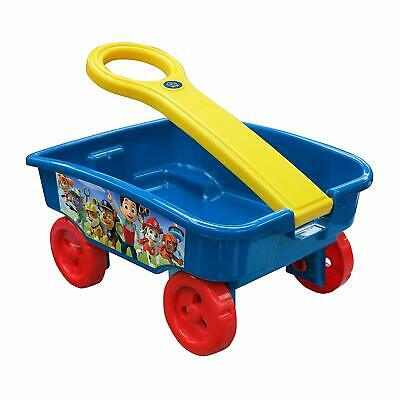 PAW PATROL Craft Caddy Trolley Pull Along Wagon Indoor Outdoor Garden Toy