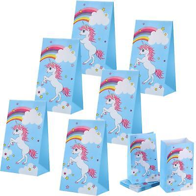 30 Pack Unicorn Party Bags Favor Goodies Gift Favors Supplies Decorations For Ki](Gift Bags For Baby Shower Favors)