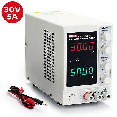 Uni-t Utp3315tfl-ii Linear Dc Power Supply 0-30v0-5a Adjustable Regulator