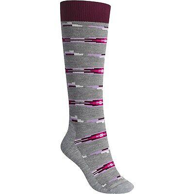 Women's Burton Shadow Midweight Snow Ski Snowboard Thermal Socks 2 Pack Size S/M