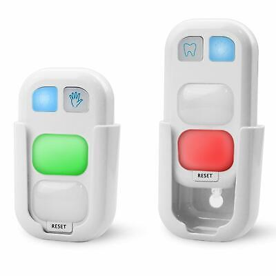 2 - PackTimer for Kids Battery Powered Teeth Brushing Timer with LED Light Great - Timers For Kids