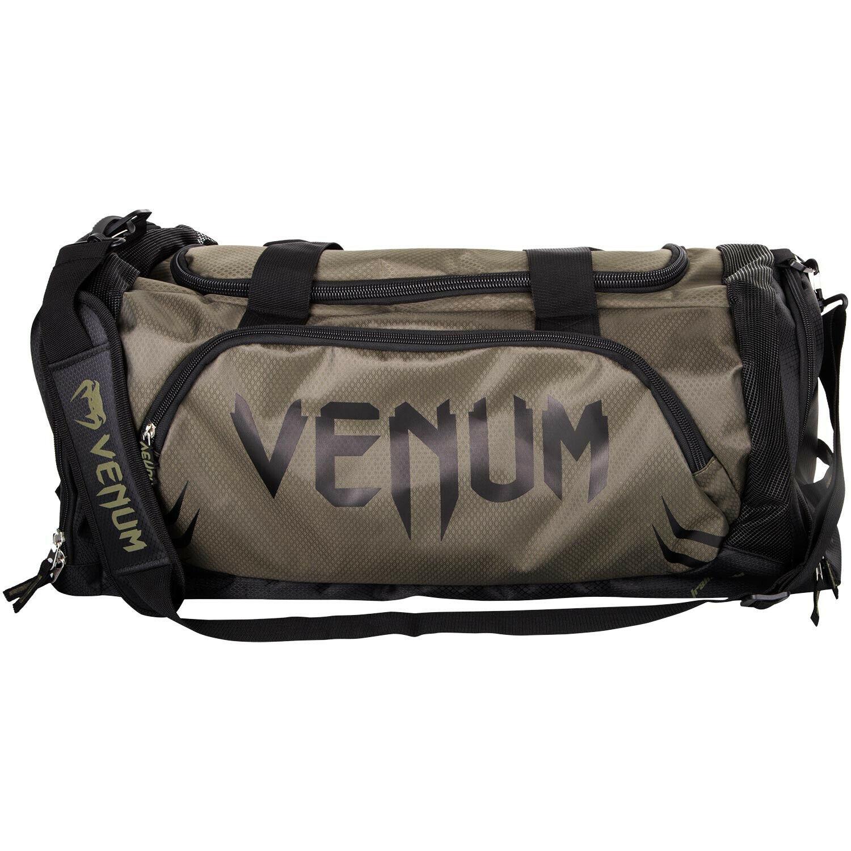 Venum Trainer Lite Sport MMA Boxing Duffle Gym Bag Black//Gray