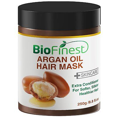 Biofinest Argan Oil Hair Mask - with 100% Organic Jojoba Oil
