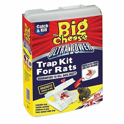 The Big Cheese Ultra Power Trap Kit For Rats - 3 x  [VIC0835]