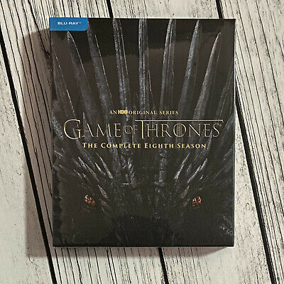 Game of Thrones: Season 8 (Blu-ray, 2019) US Seller Brand New USPS First Class