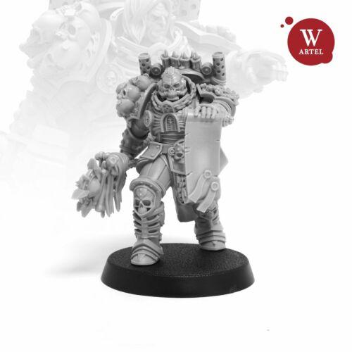 Artel W Unforgiving Chaplain 28mm Miniature Space Marine Terminator