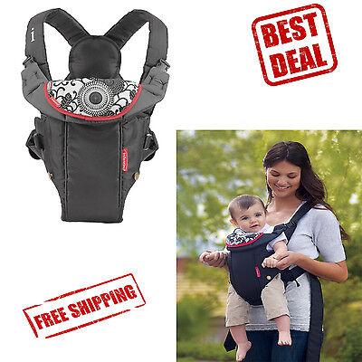 Baby Carrier Wrap Sling Infant Newborn Backpack Adjustable Breathable Rider Bag